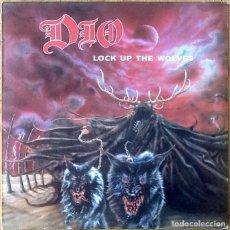 Discos de vinilo: DIO : LOCK UP THE WOLVES [ESP 1990] LP. Lote 196785517