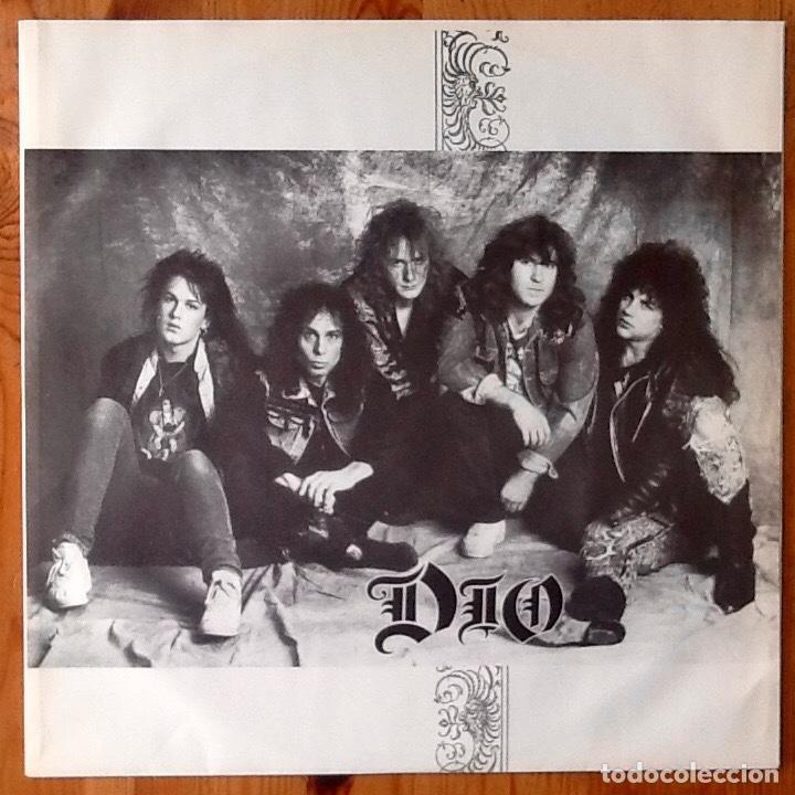 Discos de vinilo: DIO : LOCK UP THE WOLVES [ESP 1990] LP - Foto 3 - 196785517