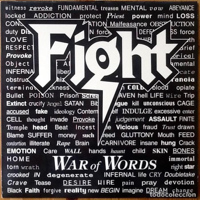 FIGHT : WAR OF WORLDS [ESP 1993] LP (Música - Discos - LP Vinilo - Heavy - Metal)