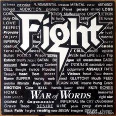 Discos de vinilo: FIGHT : WAR OF WORLDS [ESP 1993] LP. Lote 196785775