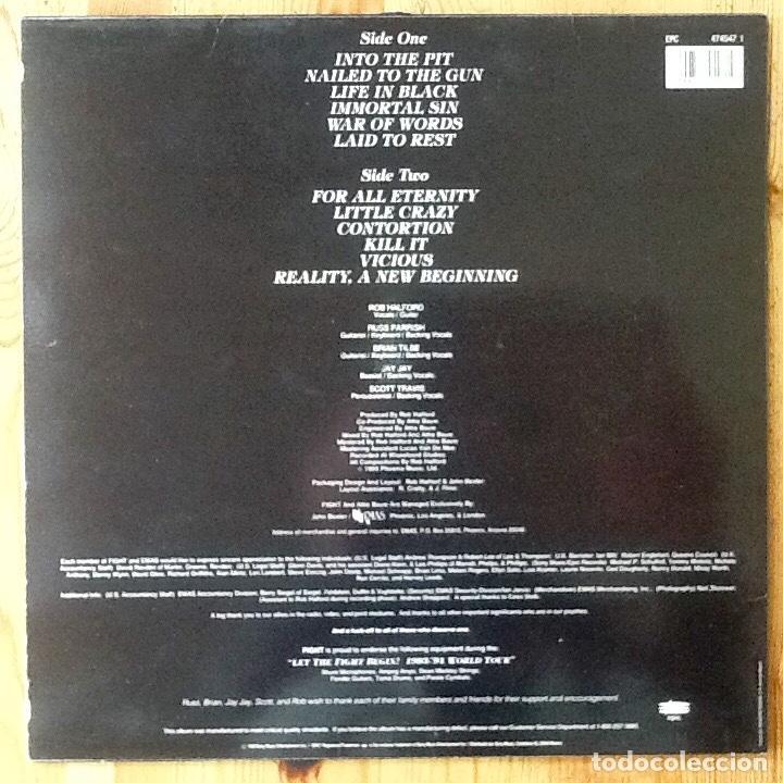Discos de vinilo: FIGHT : WAR OF WORLDS [ESP 1993] LP - Foto 2 - 196785775