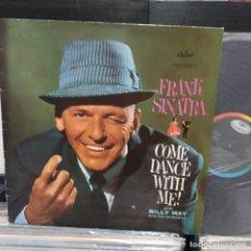Discos de vinilo: LP FRANK SINATRA COME DANCE WITH ME VG++. Lote 196786518