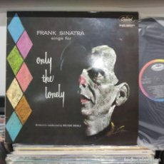 Discos de vinilo: LP FRANK SINATRA SINGS FOR ONLY THE LONELY VG++. Lote 196786666