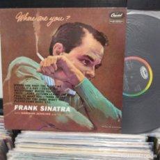 Discos de vinilo: LP FRANK SINATRA WHERE ARE YOU? VG++. Lote 196786956