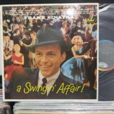 Discos de vinilo: LP FRANK DINATRA A SWINGIN AFFAIR VG++. Lote 196787175