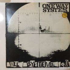 Discos de vinilo: ONE WAY SYSTEM: ALL SYSTEMS GO (ANAGRAM-EDIGSA 15L0579 SPAIN 1983). Lote 196796676