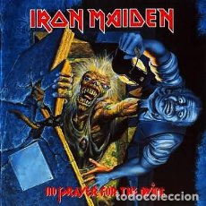 Discos de vinilo: IRON MAIDEN _– NO PRAYER FOR THE DYING. Lote 196803021