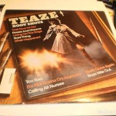 Discos de vinilo: LP TEAZE. AQUARIUS RECORDS 1980 CANADA CON FUNDA INTERIOR ORIGINAL (DISCO PROBADO Y BIEN, SEMINUEVO). Lote 196811235