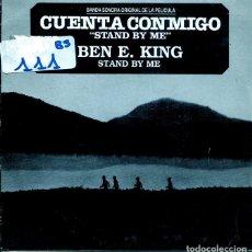 Disques de vinyle: STAND BY ME (BSO) - BEN E. KING / BEN E. KING (SINGLE PROMO 1987). Lote 196821470
