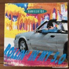 Discos de vinilo: VANILLA ICE - ROLLIN' IN MY 5.0 - SINGLE SBK ALEMANIA 1991. Lote 196837135