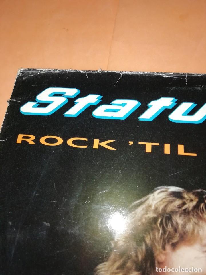 Discos de vinilo: STATUS QUO. ROCKTIL YOU DROP. VERTIGO RERCORDS 1991 - Foto 2 - 196842192