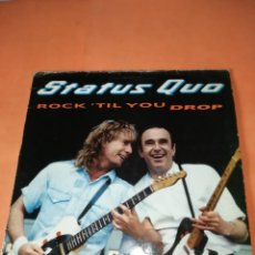 Discos de vinilo: STATUS QUO. ROCK'TIL YOU DROP. VERTIGO RERCORDS 1991. Lote 196842192