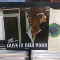 Discos de vinilo: LP ORIG USA IMPULSE GATO BARBIERI CHAPTER FOUR ALIVE IN NEW YORK VG++. Lote 196850073