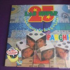 Discos de vinilo: PARCHIS DOBLE LP BELTER 1979 LAS SUPER 25 CANCIONES DE LOS PEQUES - PRECINTADO - TVE TELEVISION 80'S. Lote 262295065