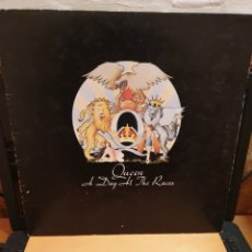 Discos de vinilo: QUEEN , A DAY AT THE RACES EMI 1976. Lote 196885985