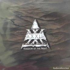 Discos de vinilo: AXXIS - KINGDOM OF THE NIGHT. Lote 196892026