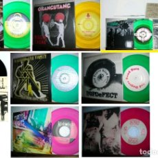 Discos de vinilo: LOTE 8 SINGLES - GRUNGE, ALTERNATIVE, PUNK 45 & EP EDT USA, TODOS EN ESTADO IMPECABLE !. Lote 196900232