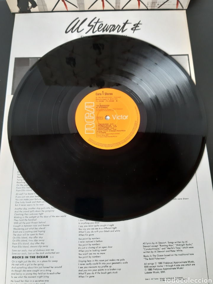 Discos de vinilo: AL STEWART. SHOT IN THE DARK. 1989. RCA. VICTOR. - Foto 3 - 196904503