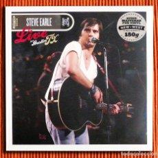 Discos de vinilo: STEVE EARLE - LIVE FROM AUSTIN TX VINILO 180GR 2LP NUEVO Y PRECINTADO. Lote 196909418