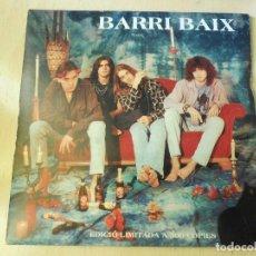 Discos de vinilo: BARRI BAIX, SG, M´AGRADA FER-HO + 2, AÑO 1994 (EDICIÓ LIMITADA A 500 COPIES). Lote 196912270