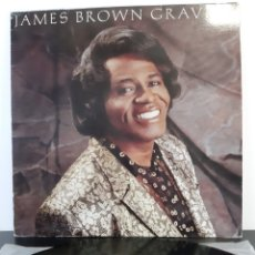 Discos de vinilo: JAMES BROWN. GRAVITY. SCOTTI BROTHERS. 1986. SPAIN.. Lote 196914313