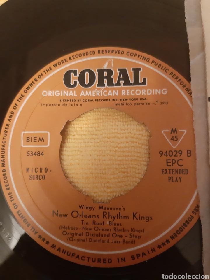 Discos de vinilo: DIFICIL. GEORGIE AULD& JUD CONLONS RHYTHMAIRES MOOD FOR TENOR. SPAIN. CORAL. - Foto 3 - 196926312