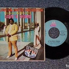 Discos de vinilo: BARRY WHITE & THE LOVE UNLIMITED ORCHESTRA - LOVE´S THEME. EDITADO POR MOVIEPLAY. AÑO 1.974. Lote 196932950