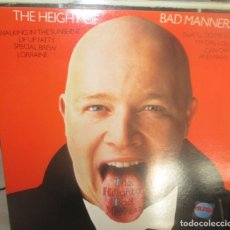 Discos de vinilo: BAD MANNERS - THE HEIGHT OF BAD MANNERS - THREE EGGS 6013 - 1983 - EDICION INGLESA-CARPETA DOBLE. Lote 196934037