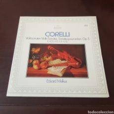 Discos de vinilo: CORELLI - VIOLIN SONATAS - EDUARD MELKUS. Lote 196971913