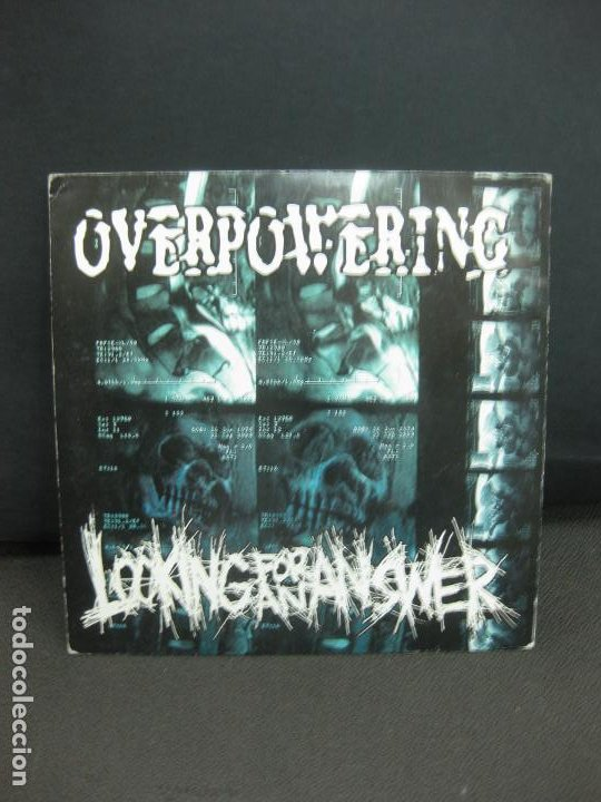 OVERPOWERING - LOKING FOR AN ANSWER. . 33 RPM. 5 TEMAS POR CARA. GERMANY. (Música - Discos de Vinilo - EPs - Rock & Roll)