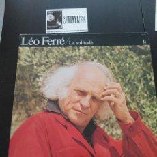 Discos de vinilo: LÉO FERRÉ ?CON EL GRUPO ZOO - LA SOLITUDE - LP: BARCLAY ?– 90 311 EDICIÓN FRANCIA PORTADA DOBLE. Lote 196988948