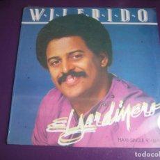 Dischi in vinile: WILFRIDO VARGAS Y SU ORQUESTA MAXI SINGLE ARIOLA 1985 - EL JARDINERO - SALSA MERENGUE - SIN USO. Lote 197034600