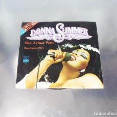 Discos de vinilo: DONNA SUMMER ---MAC ARTHUR PARK / ONCE UPON A TIME----( NM OR M- )---. Lote 182700052
