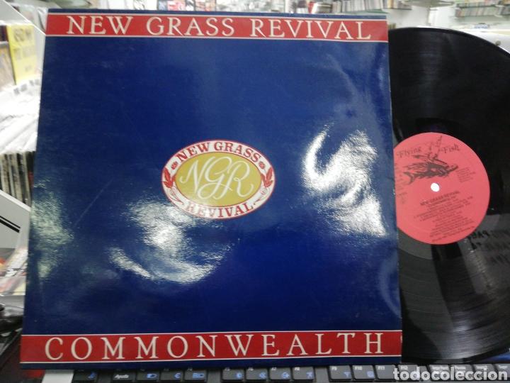 NEW GRASS REVIVAL LP COMMONWEALTH ESPAÑA 1989 (Música - Discos - LP Vinilo - Pop - Rock - Extranjero de los 70)