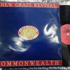 Discos de vinilo: NEW GRASS REVIVAL LP COMMONWEALTH ESPAÑA 1989. Lote 197045972