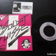 Discos de vinilo: YTTERBIUM 70 – FUTUR SOLDAT SUISSE SINGLE SUPER NOVA – Y-0070 PUNK SUIZO MUY RARO. Lote 197052831
