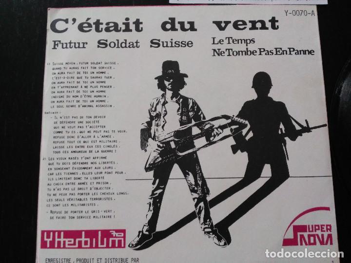 Discos de vinilo: Ytterbium 70 – Futur Soldat Suisse Single Super Nova – Y-0070 Punk Suizo Muy Raro - Foto 3 - 197052831
