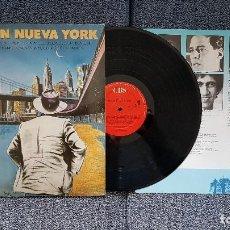 Discos de vinilo: POETAS EN NUEVA YORK - (FEDERICO GARCÍA LORCA) EDITADO POR CBS. AÑO 1.986 (LETRAS DE CANCIONES). Lote 197056661