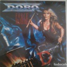 Discos de vinilo: DORO - FORCE MAJEURE EDICIÓN ESPAÑOLA 1989 CON INSERTO. Lote 197075018