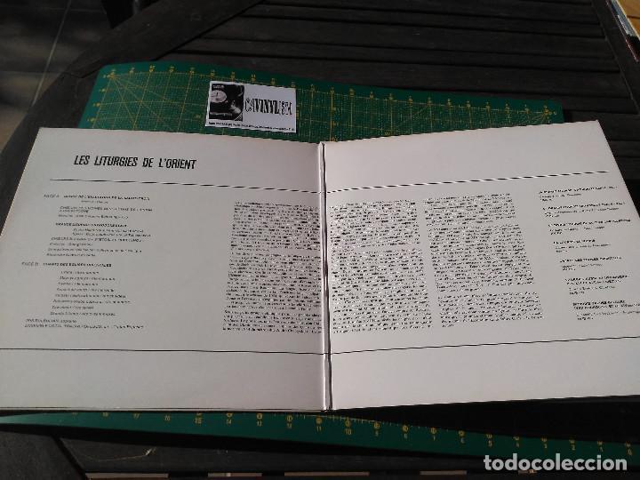 Discos de vinilo: Les Liturgies De LOrient LP Harmonia Mundi – HMU 520 - Edición Francia - Foto 3 - 197075575