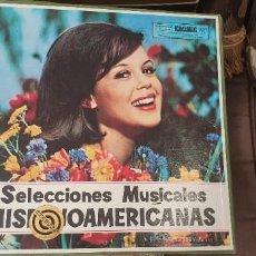 Discos de vinilo: 10 LPS SELECCIONES MUSICALES HISPANOAMERICANAS RCA. Lote 197076700
