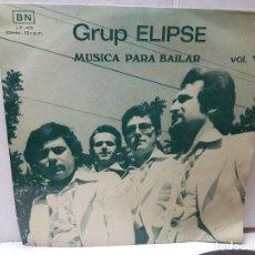 Discos de vinilo: LP-GRUP ELIPSE-MUSICA PARA BAILAR VOL.V EN FUNDA ORIGINAL 1977. Lote 197081188