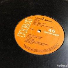Discos de vinilo: DEPECHE MODE - JUST CAN'T GET ENOUGH (NO TENGO BASTANTE) SUPERSINGLE. Lote 197098923