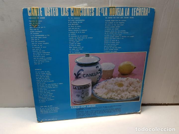 Discos de vinilo: DISCO 33 RPM- CANCION DE AMOR- LA LECHERA en funda original - Foto 2 - 197108445