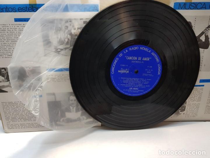 Discos de vinilo: DISCO 33 RPM- CANCION DE AMOR- LA LECHERA en funda original - Foto 3 - 197108445