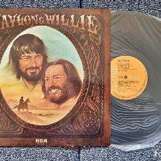Discos de vinilo: WAYLON JENNINGS Y WILLY NELSON - WAYLON & WILLIE. EDITADO POR RCA. AÑO 1.978. Lote 197118795