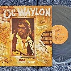 Discos de vinilo: WAYLON JENNINGS - ¨OL´WAYLON¨ EDITADO POR RCA. AÑO 1.977. Lote 197119360