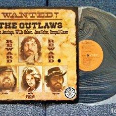 Discos de vinilo: WAYLON JENNINGS-WILLIE NELSON-JESSI COLTER-TOMPAL GLASER (THE OUTLAWS) EDITADO POR RCA. AÑO 1.976.. Lote 197120195