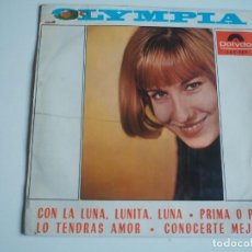 Disques de vinyle: RARO OLYMPIA EP POLYDOR, 1965 CHICA YEYÉ FROM ME TO YOU / I SHOULD HAVE KNOWN BETTER + 2. Lote 197124295