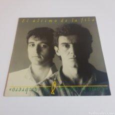 Discos de vinilo: EL ULTIMO DE LA FILA - COMO LA CABEZA AL SOMBRERO 1988 LP. Lote 197128706